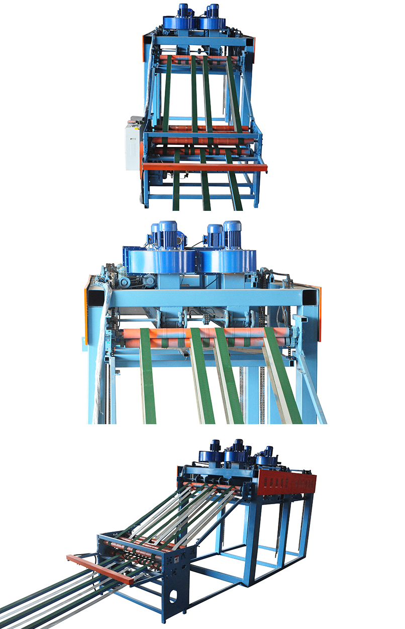 Wind suction style veneer stacker(图1)